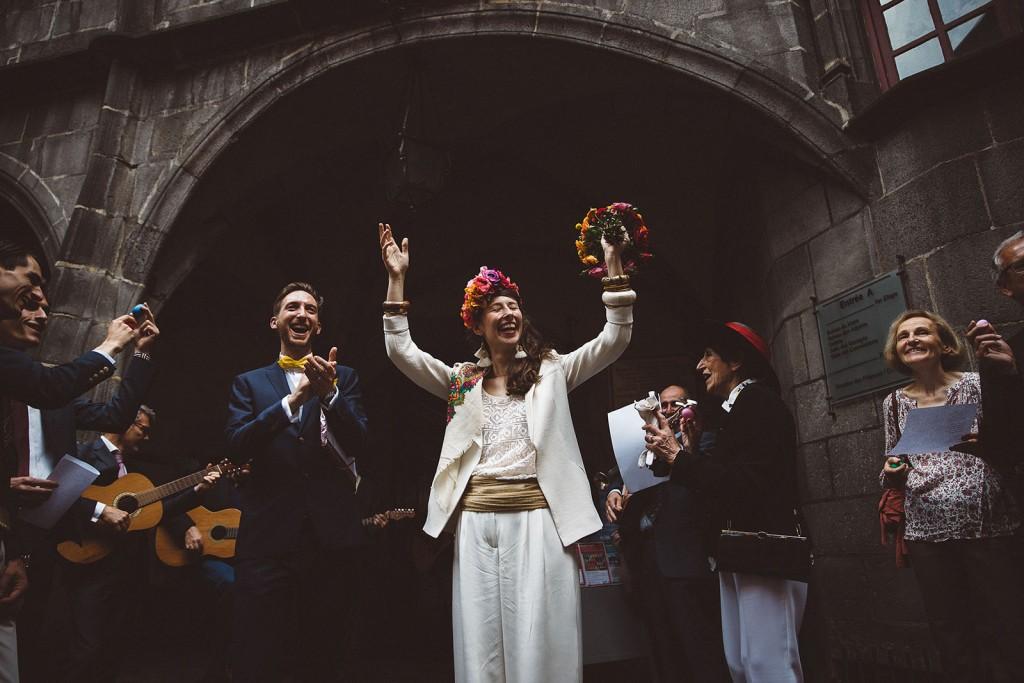 Photographe de mariage émotion reportage riom