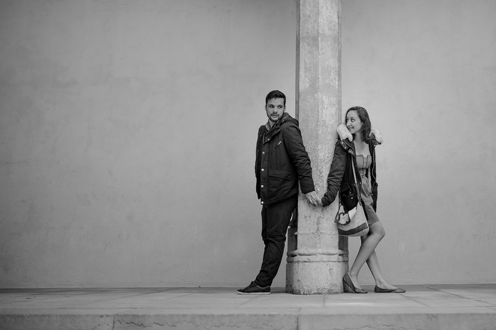 Love session old Lyon castille Alma photographer