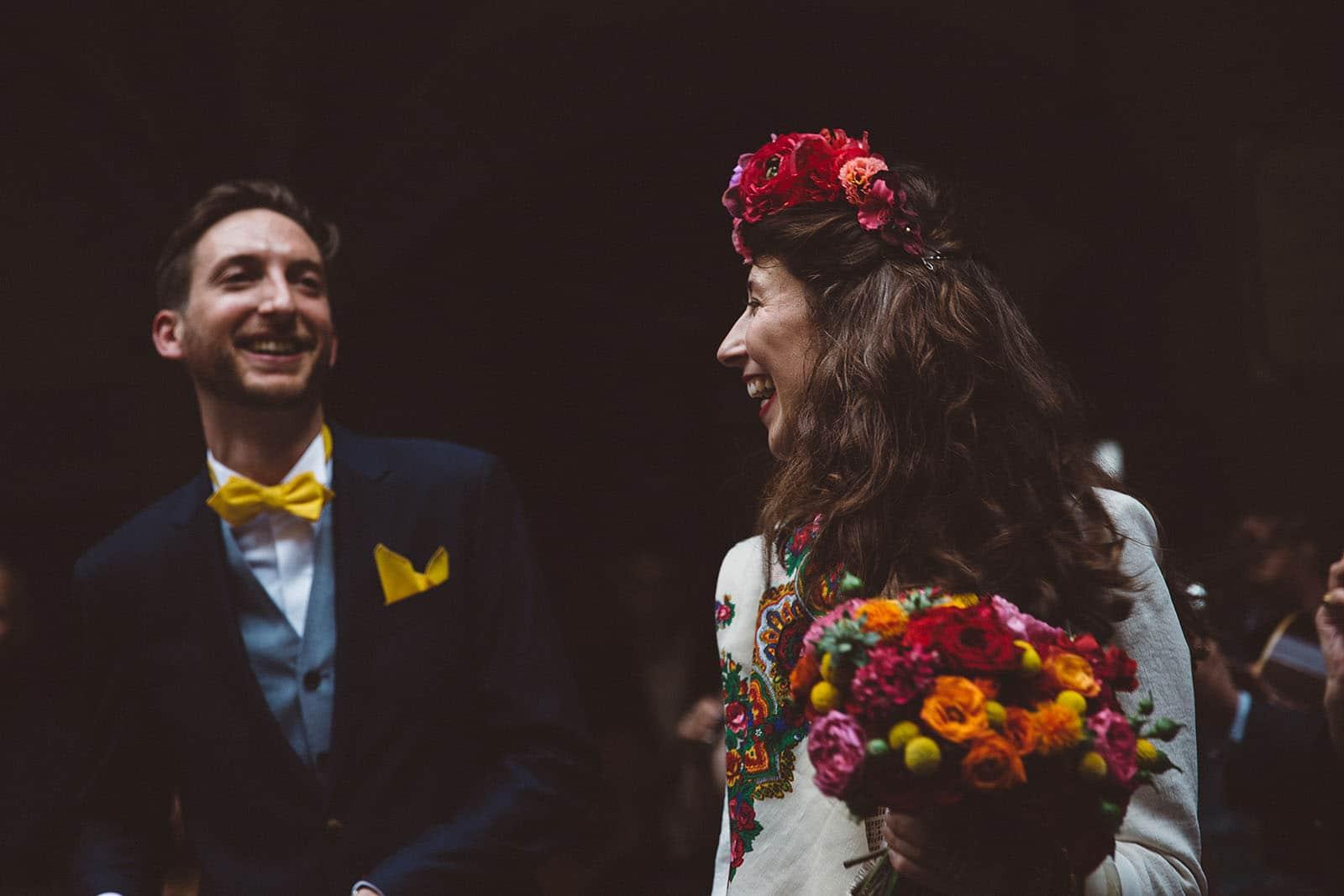 photographe de mariage à Clermont Ferrand photo des mariés