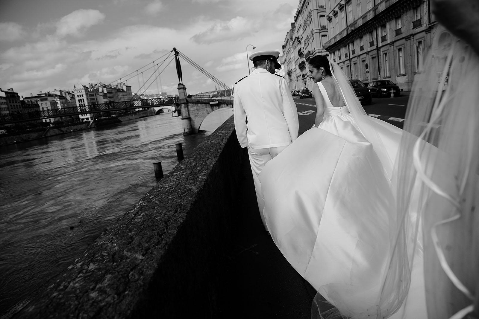 photographe de mariage à lyon photo des mariés