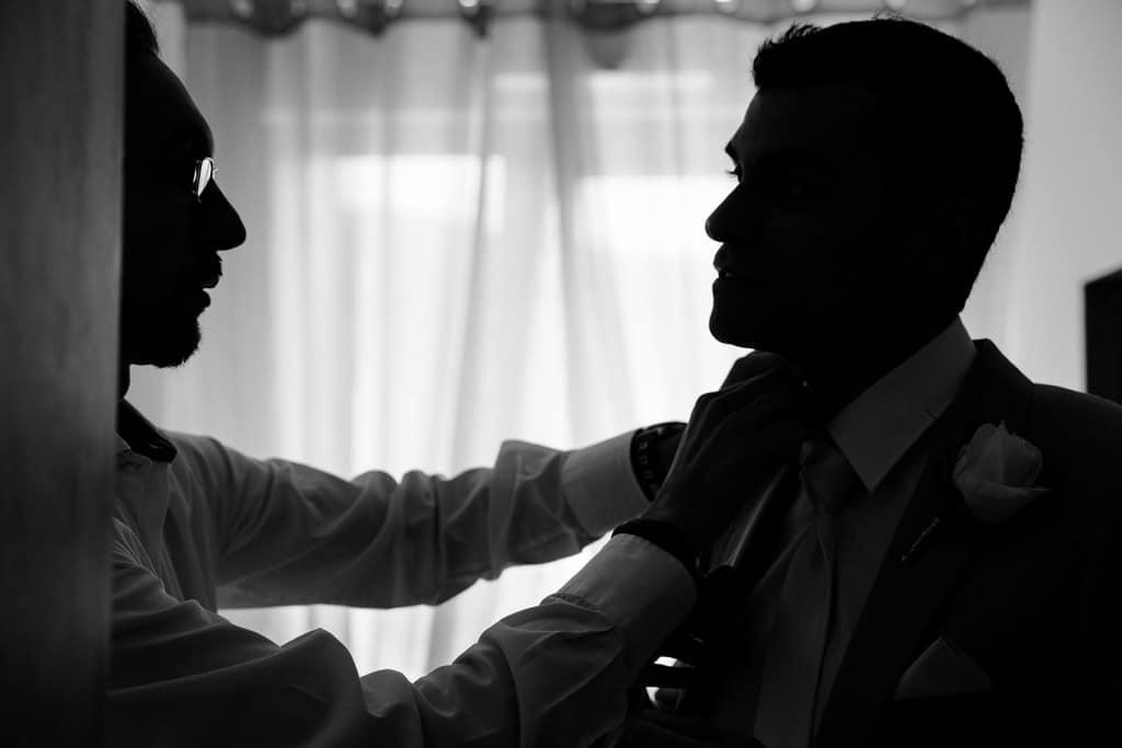 photographe de mariage dans le jura photo préparatifs du marié