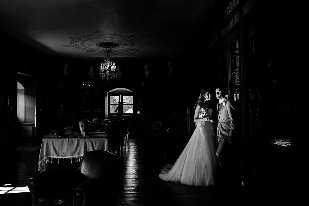 photographe de mariage dans le jura photo des mariés villa palladienne