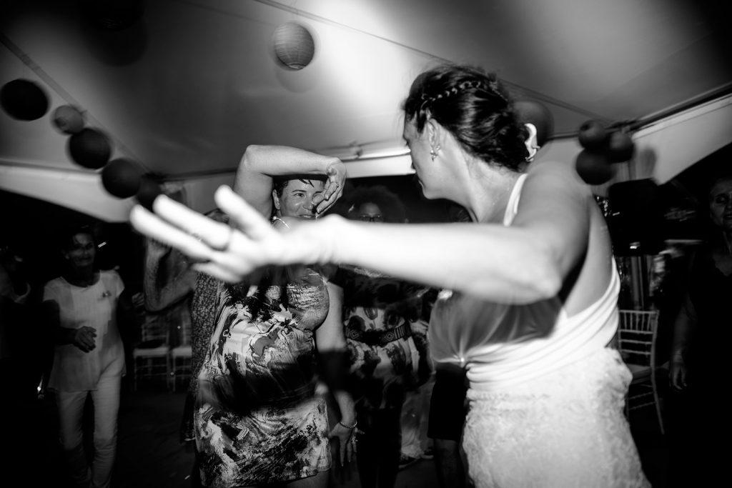 Destination wedding St Barthélemy photo de Castille ALMA photographe de mariage soirée de mariage