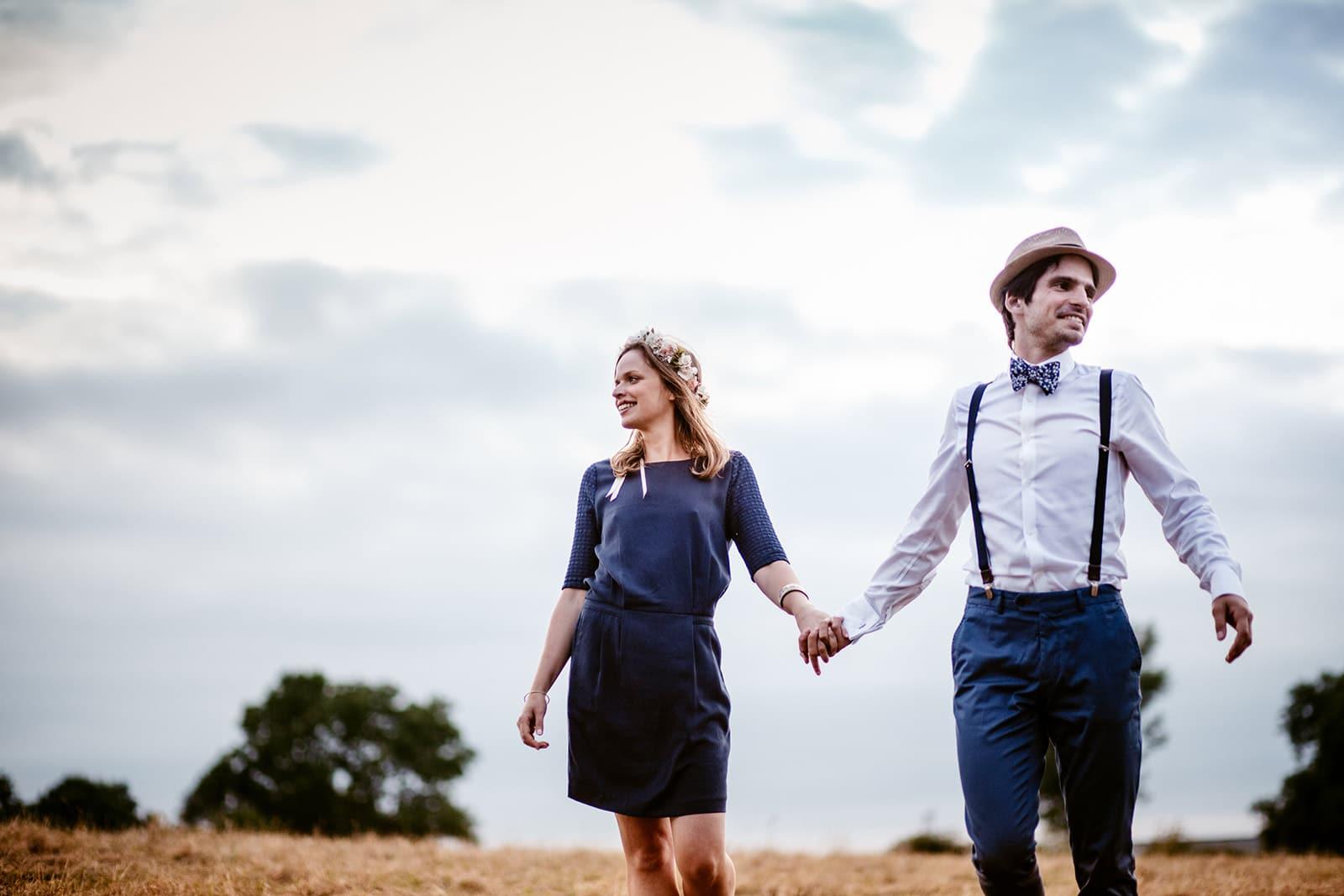 Photographe de mariage alternatif Photographe de mariage champetre Bourgogne Castille ALMA Photographe mariage