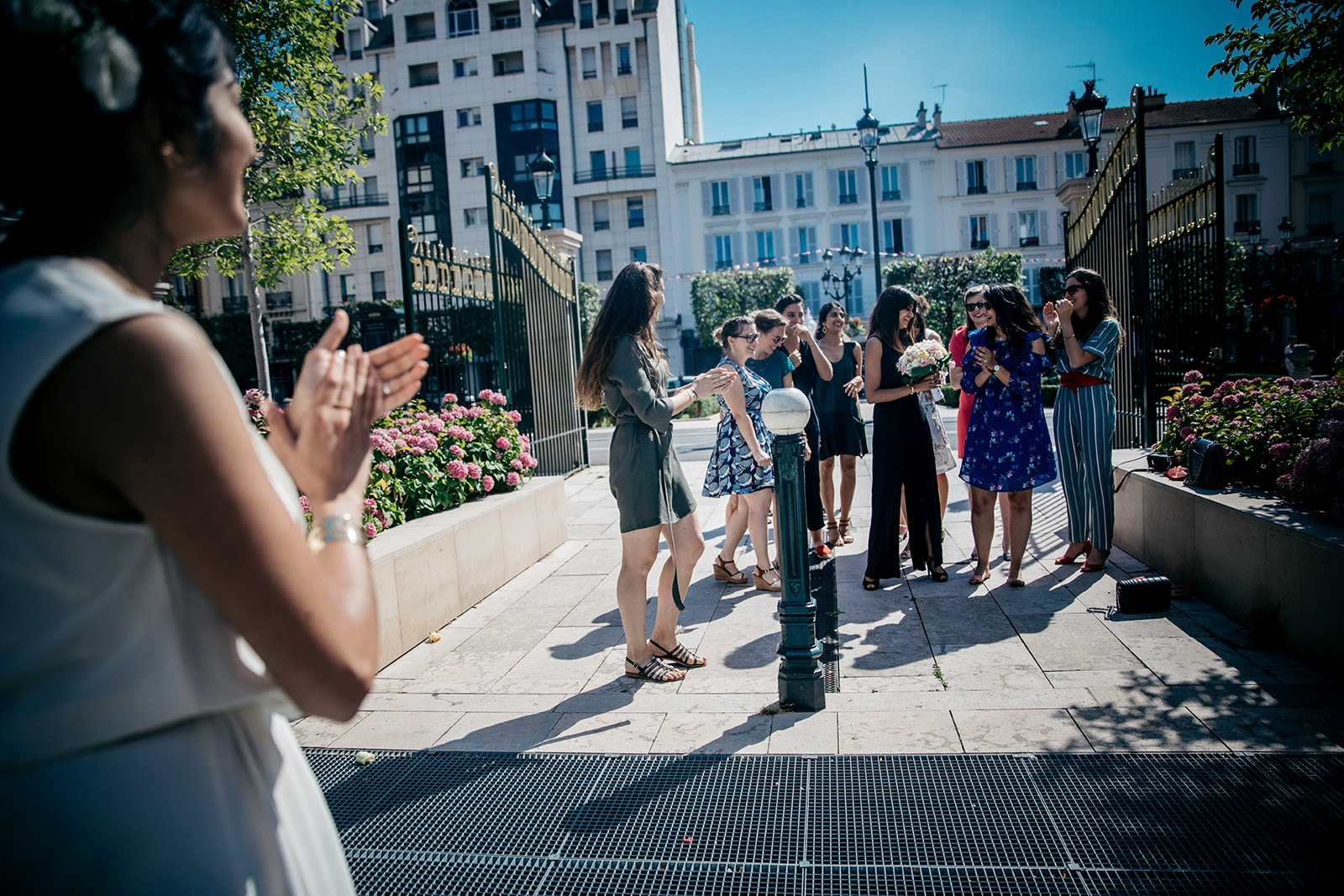 Photographe de mariage intime Paris Puteaux