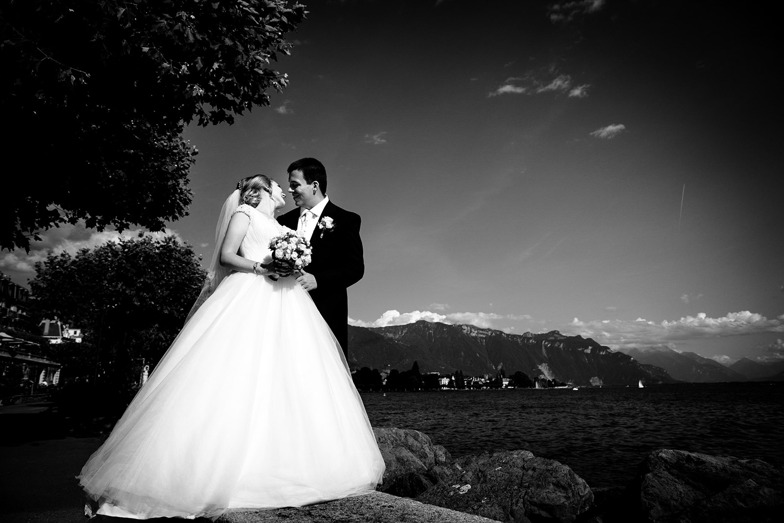 Photographe de mariage Grand hôtel du Lac Vevey