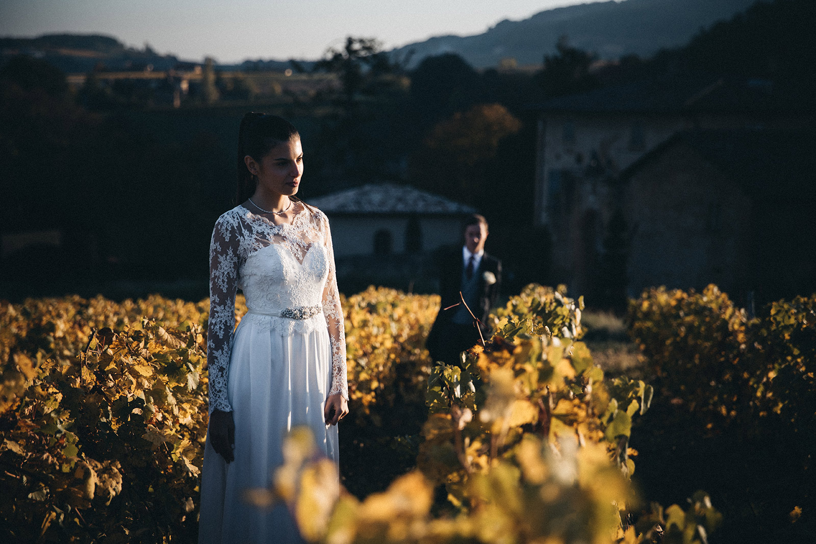 Elegant autumn wedding photographer Jarnioux Photographe de mariage chic automne Jarnioux