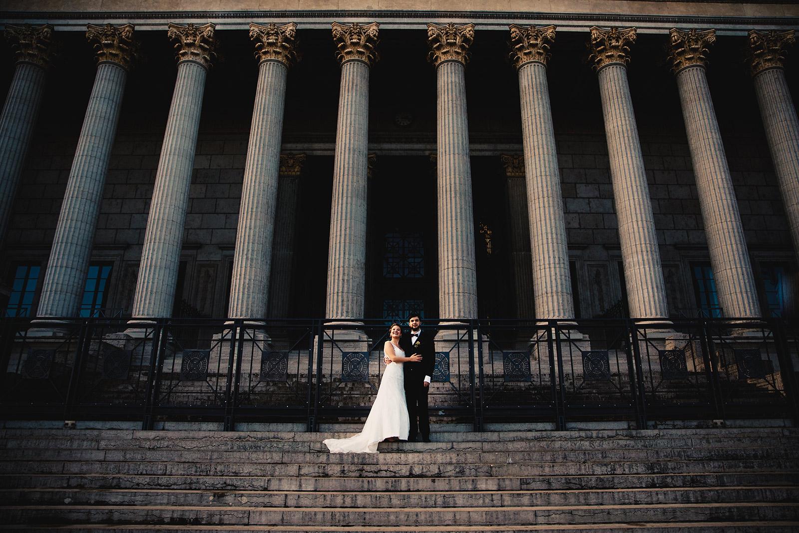Photographe de mariage urbain Lyon Castille ALMA
