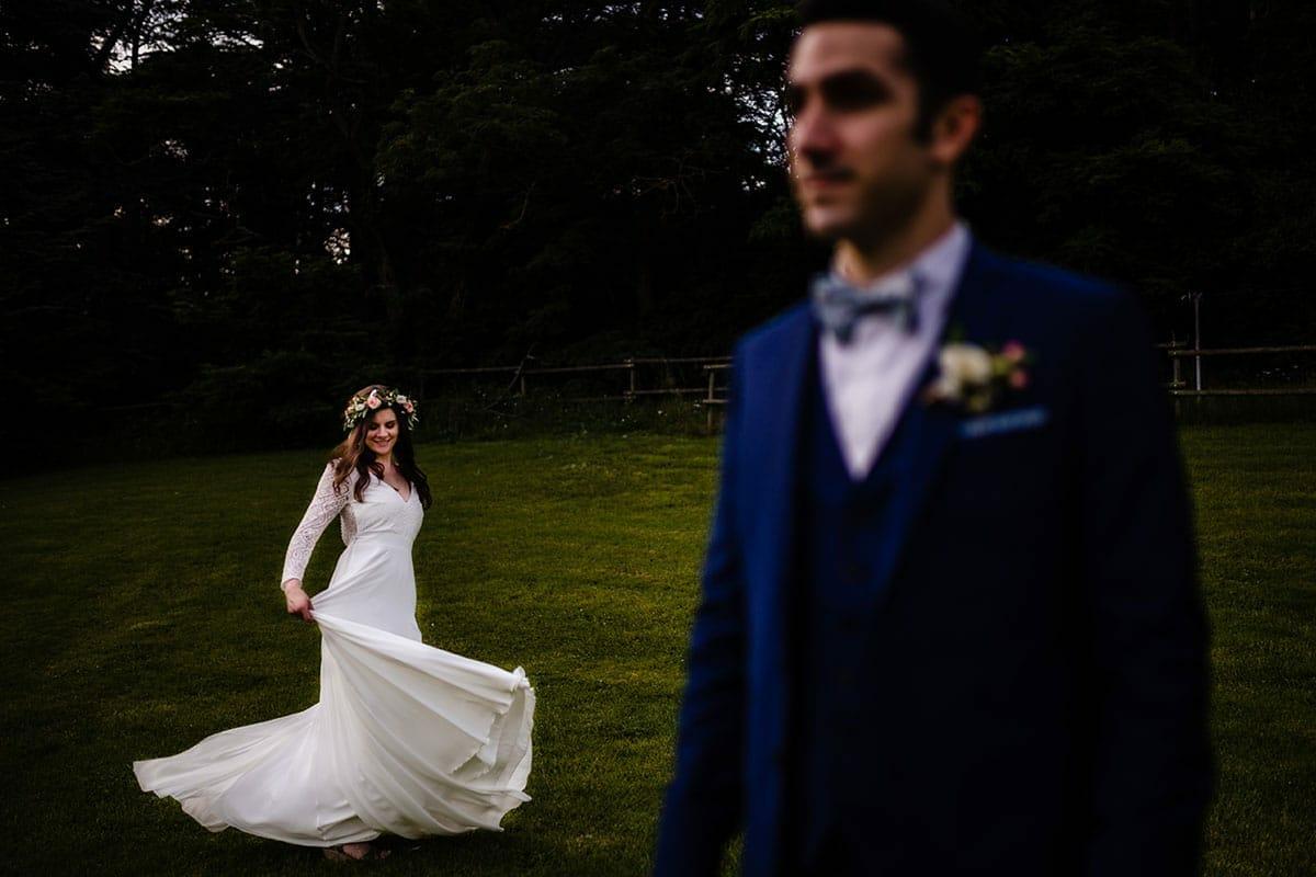 Photographe de mariage à l'Orangerie de la Grange Merlin