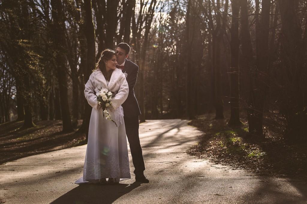 Un très beau mariage en hiver près de lyon. Castille ALMA photographe de mariage à Lyon et Chambéry.