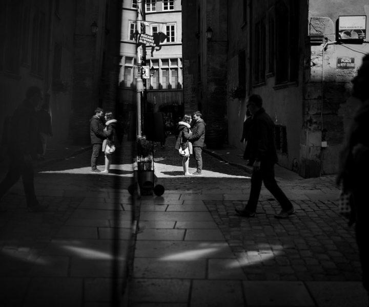 Love session dans le vieux Lyon