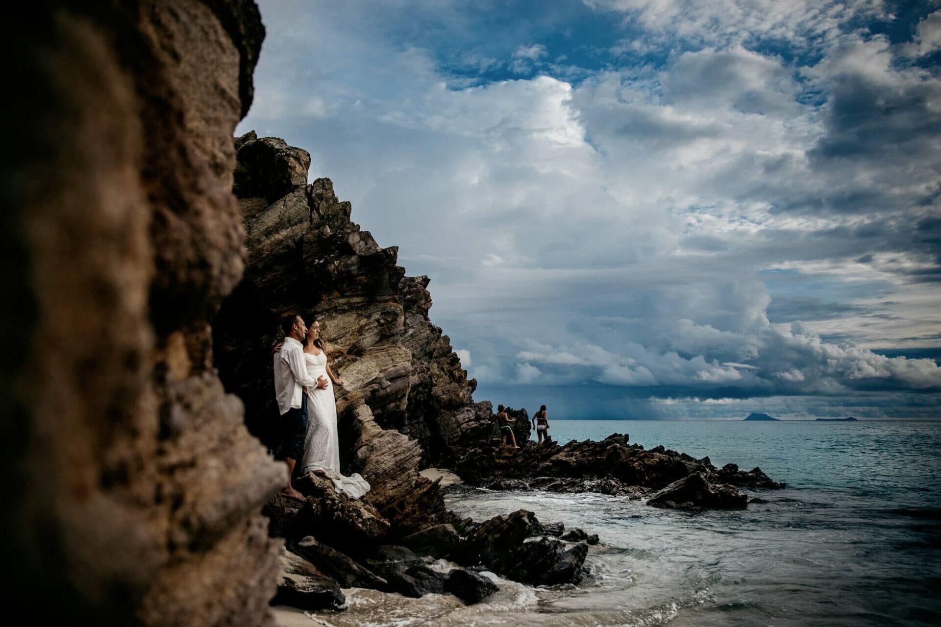 Destination wedding St Barthélemy photo de Castille ALMA photographe de mariage