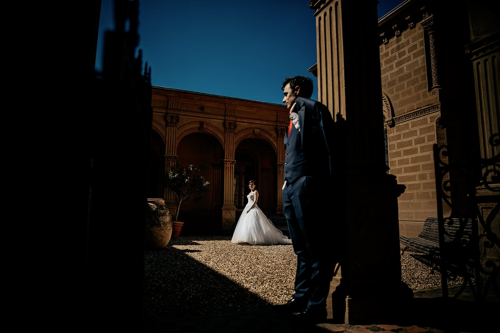 Meuilleur photographe de mariage Anse mariage au château de saint trys