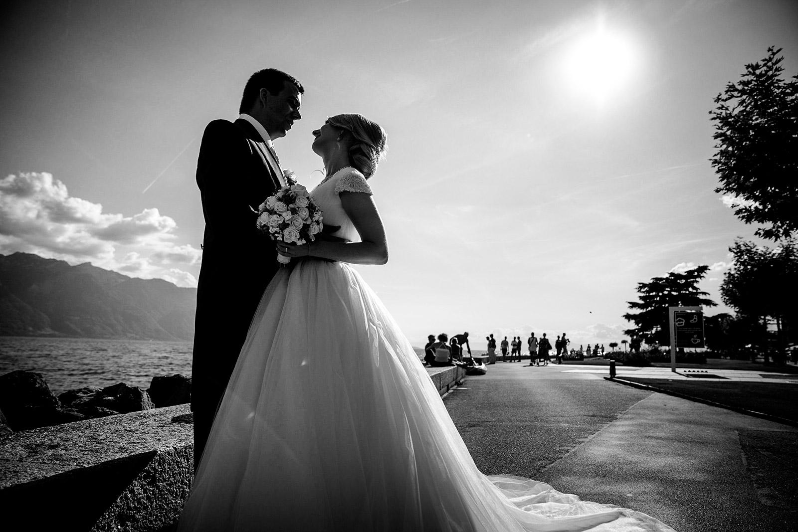 meilleur avis photographe de mariage Vevey photographe de mariage Vevey Suisse / Grand Hotel du Lac