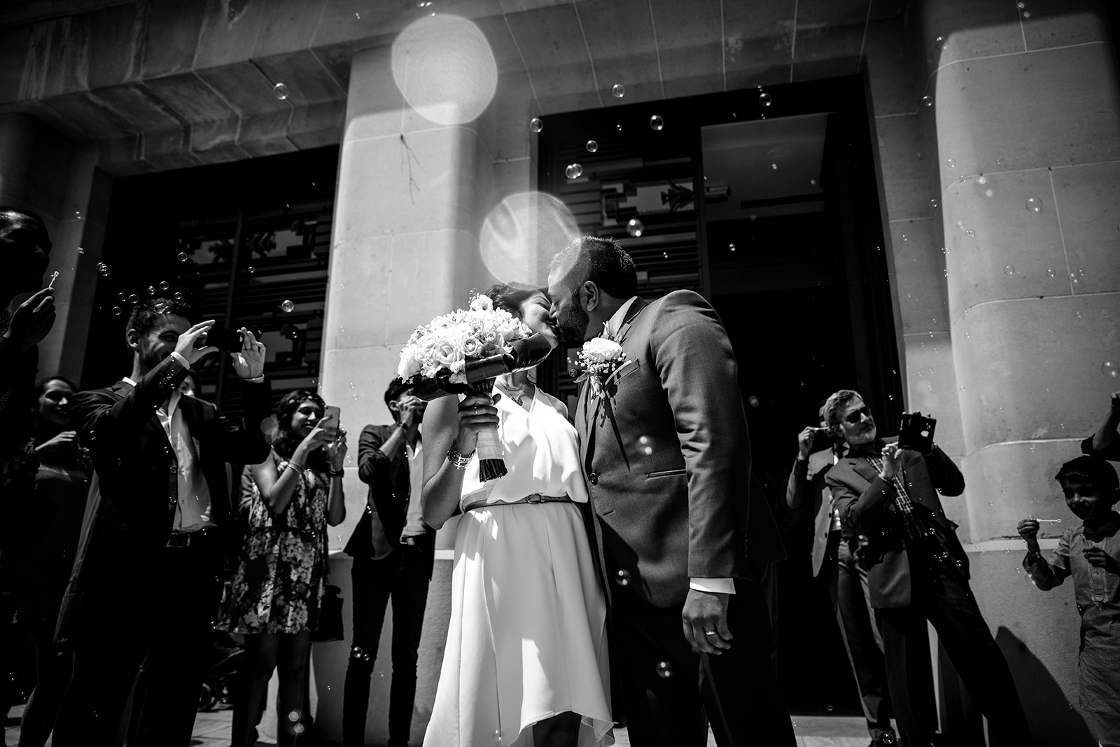 Photographe mariage intime Paris