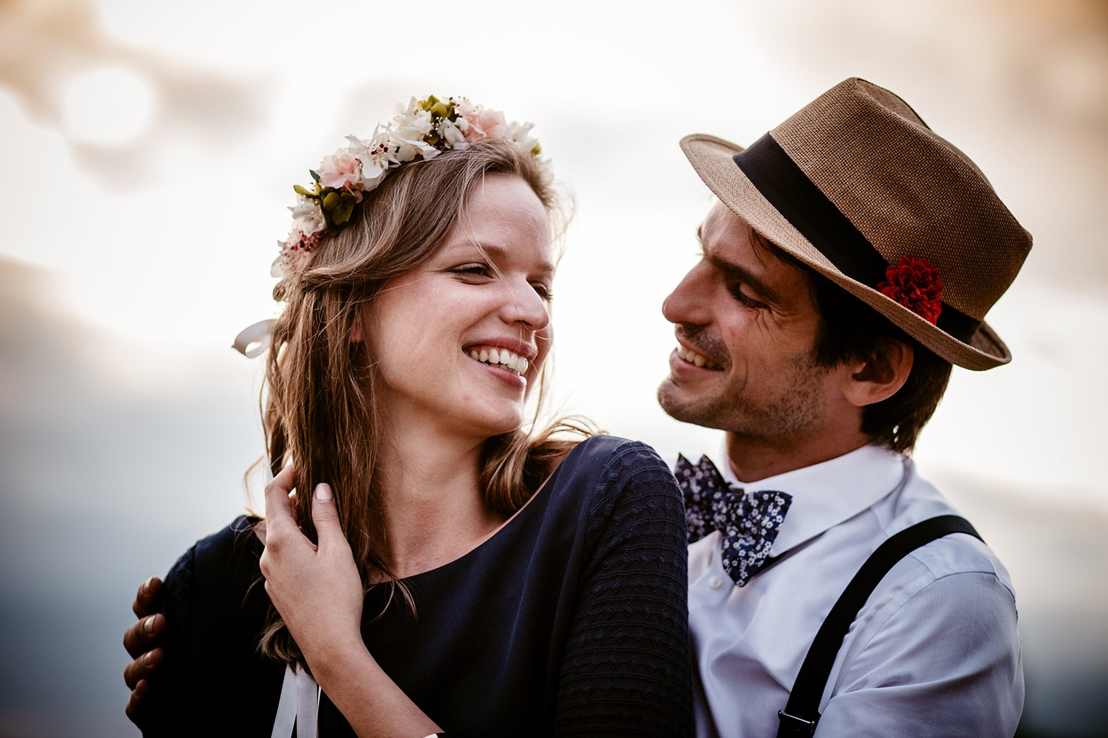 photographe de mariage bohème