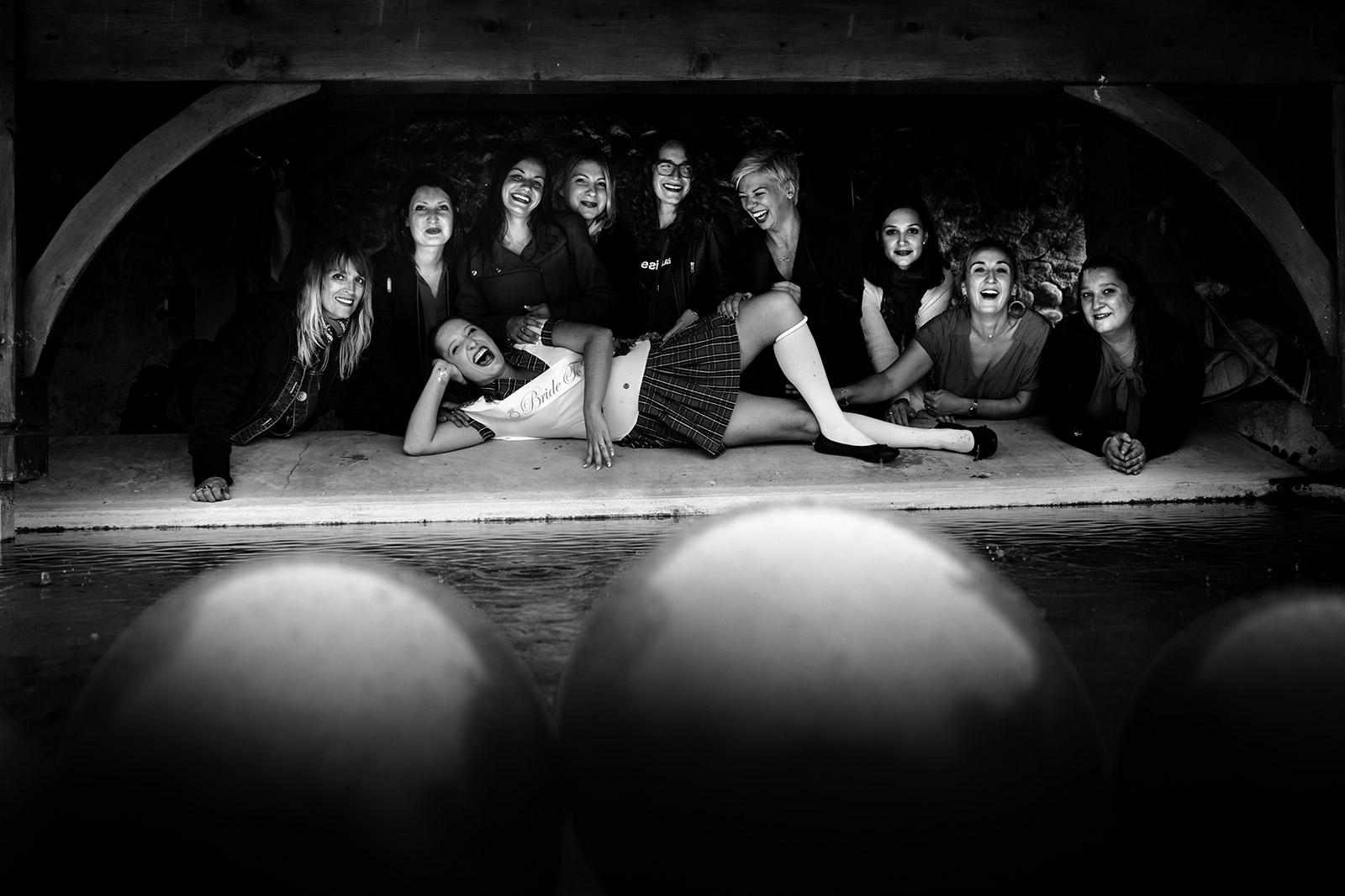 Photographe enterrement de vie de jeune fille Grenoble