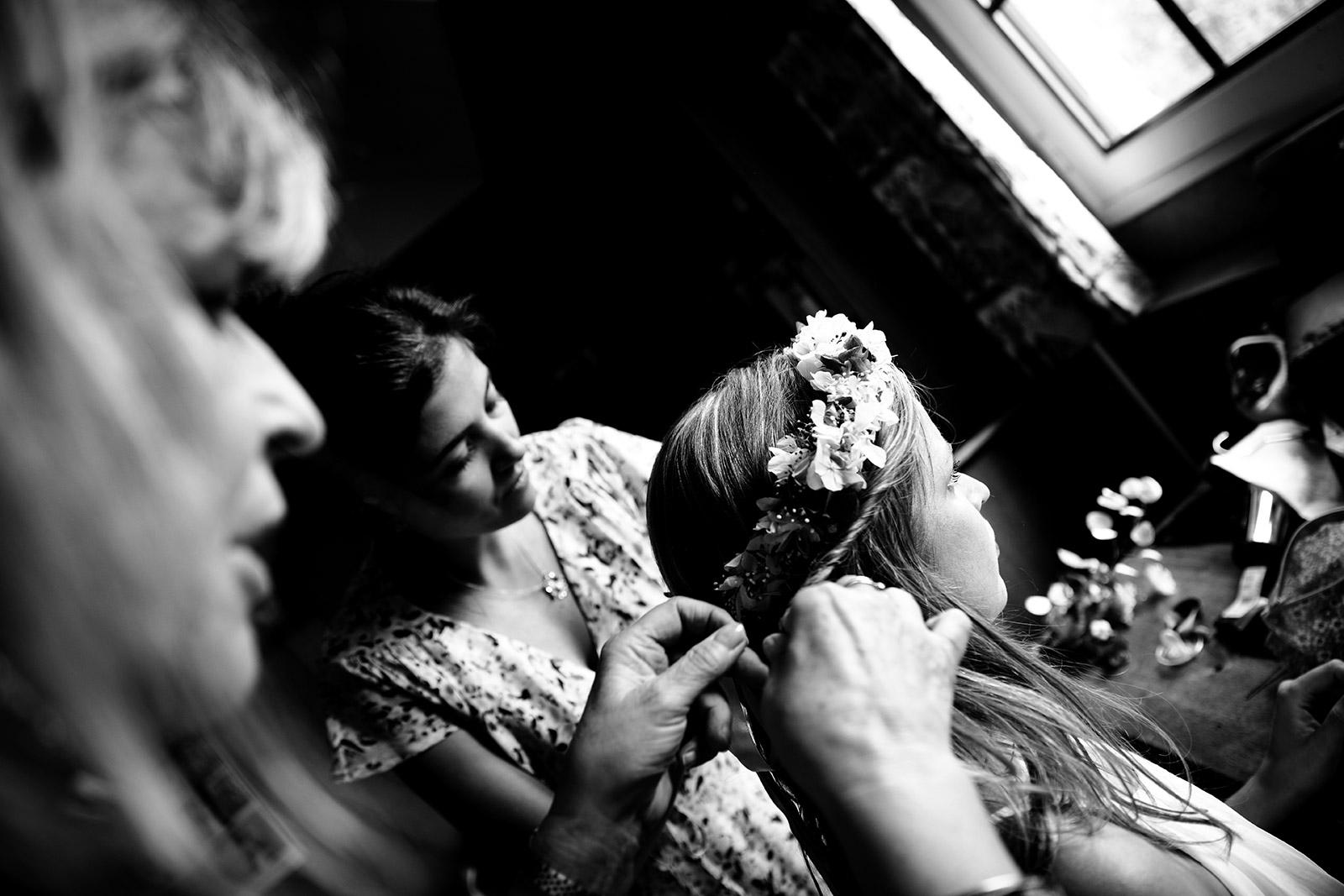Photographe de mariage boho bourgogne Castille ALMA