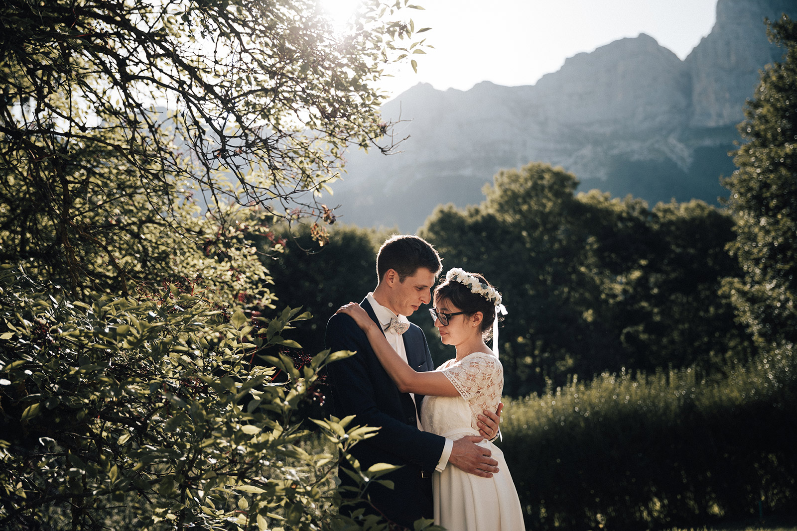 Photographe de mariage Isère Alpes Montagne Wedding photographer in the High Alps