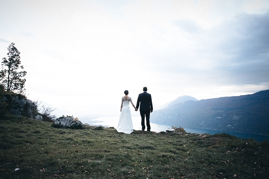 Photographe de mariage Le belvédère Aix les Bains Lac du Bourget Castille ALMA