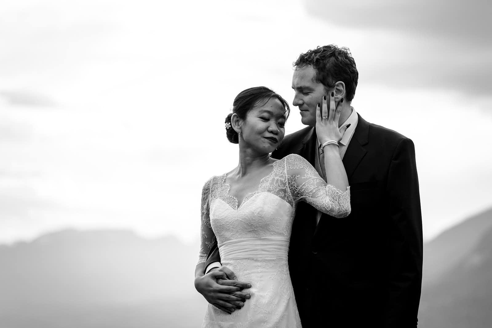 Photographe de mariage intime Aix les Bains