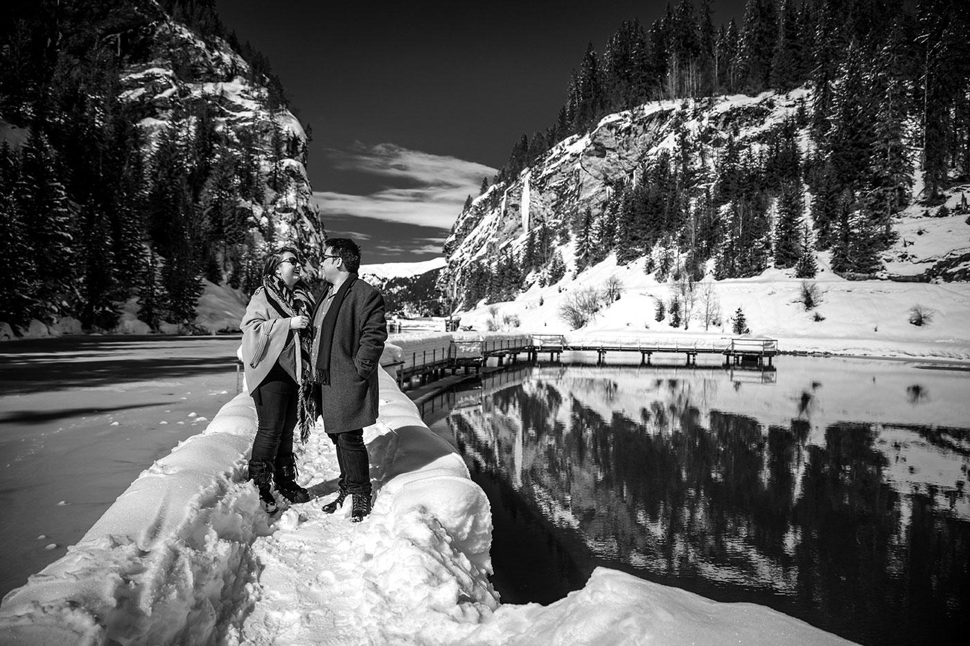 Couple photographer CourchevelPhotographe de couple Courchevel
