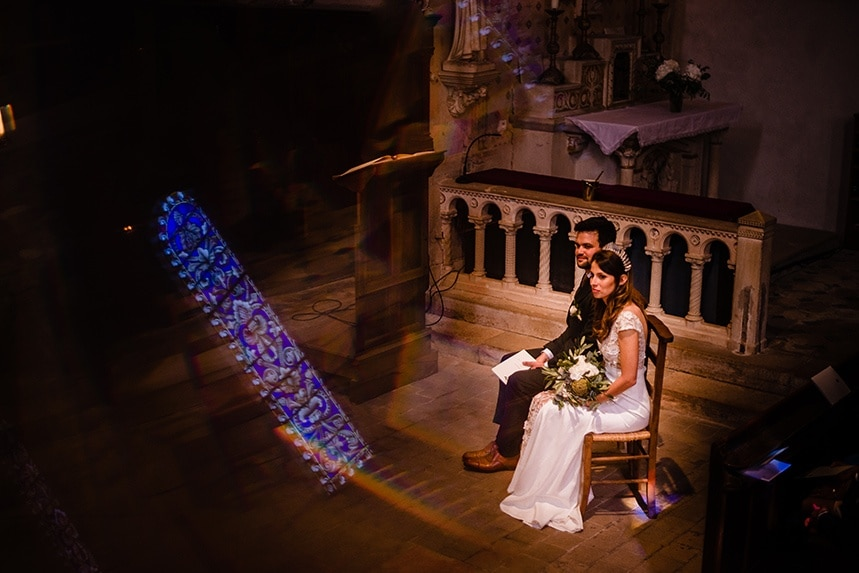Mariage au domaine la Javernière Villié Morgon printemps Castille ALMA photographe