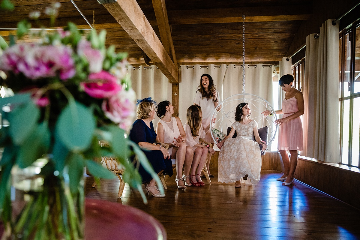 Photographe de mariage au domaine de Duby Riotord