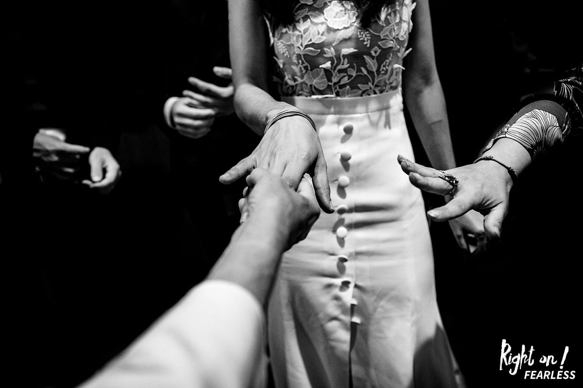 Right On Fearless ! Distinction meilleur photographe de mariage Lyon Rhône