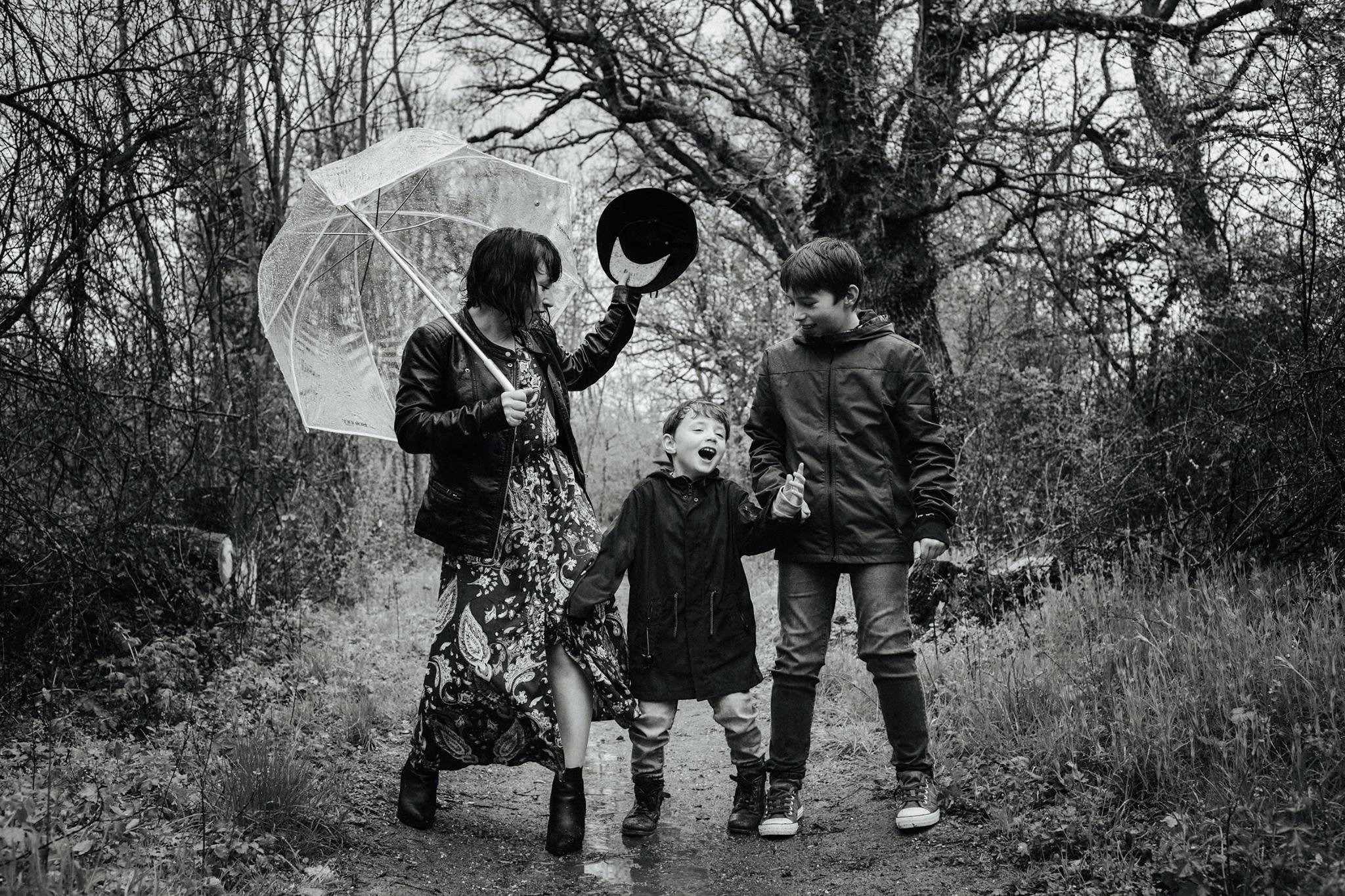 Castille ALMA et ses enfants. Séance photo dans le cadre du workshop famille. Hélène DODET