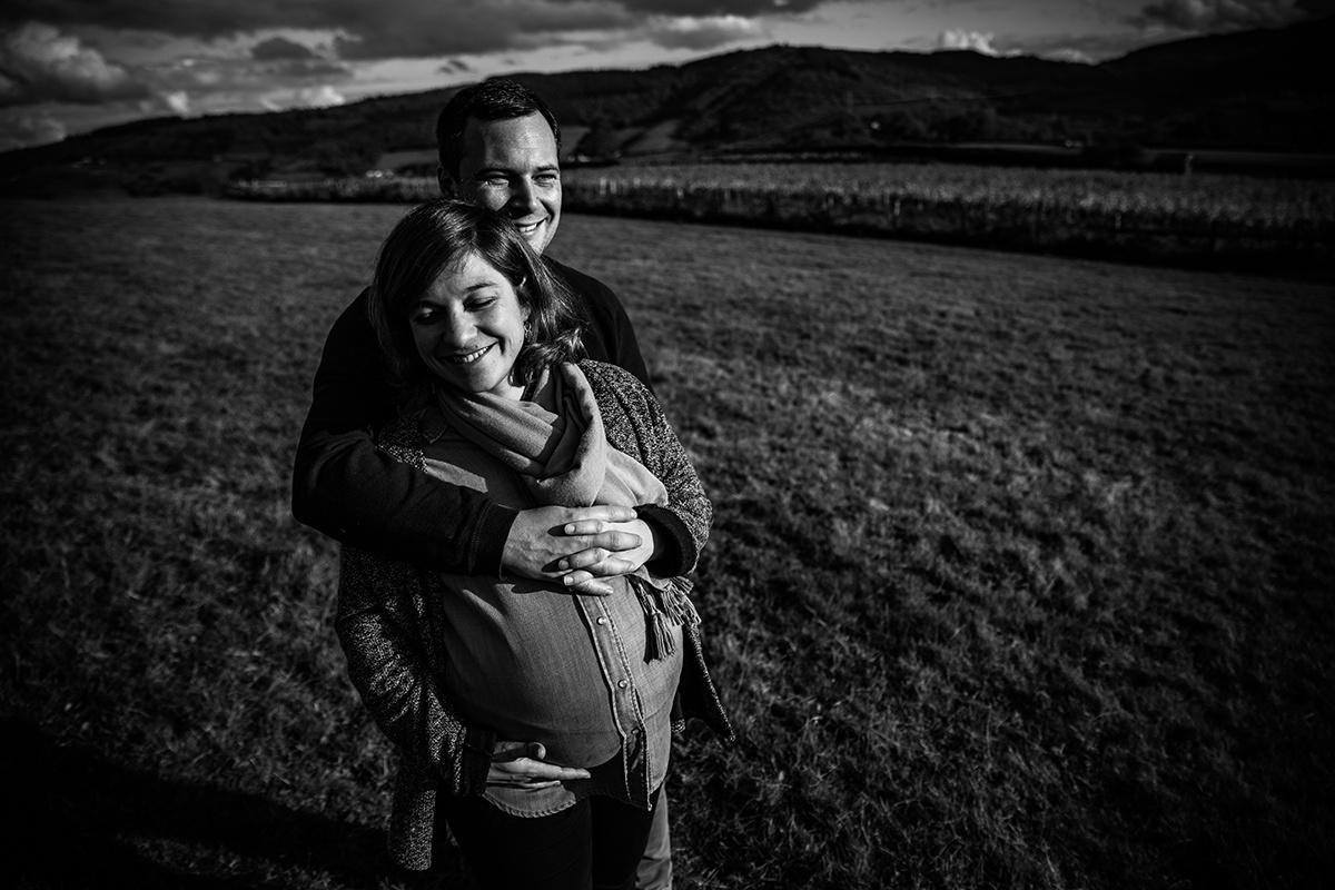 photographe famille Lyon. Séance photo grossesse maternité par Castille ALMA.
