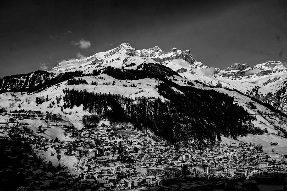 Montagne Titlis Lucerne. Voyage février 2029 à Zurich.